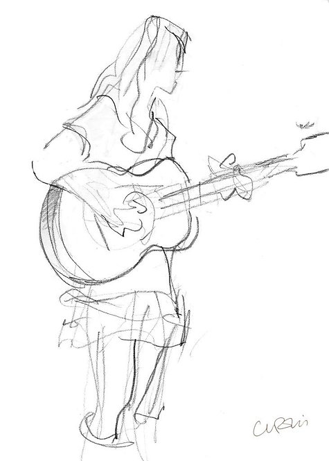 Guilfest Guitarist