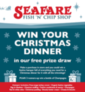 Seafare St. Johns Win Your Christmas Dinner