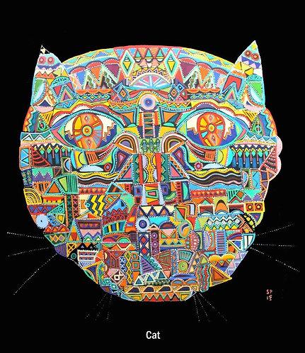 Round Faced Cat