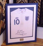 Signed Wayne Rooney Football Shirt