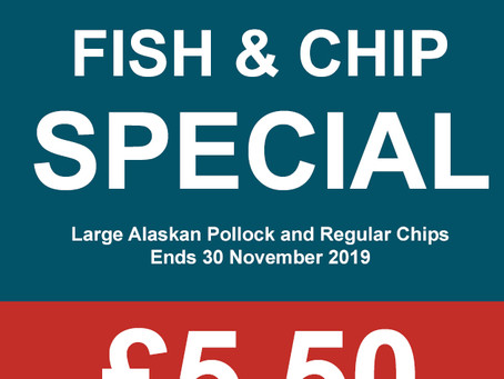 Fish & Chip Special