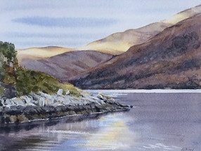 Loch Etive, Last Rays