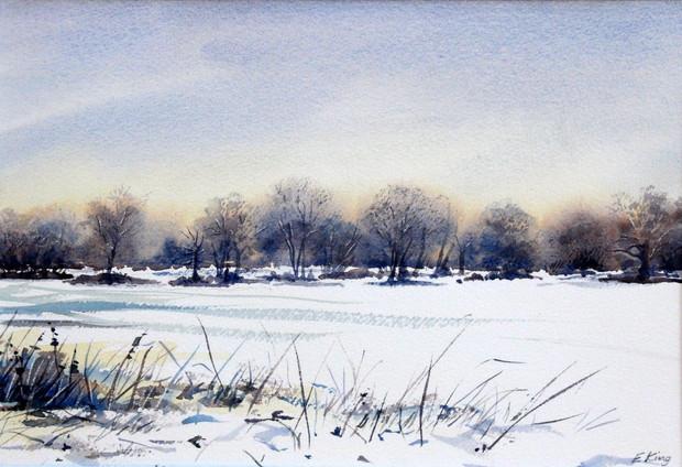 Snow Field I