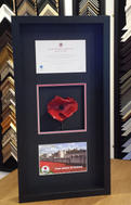 Tower of London Poppy with Certificate