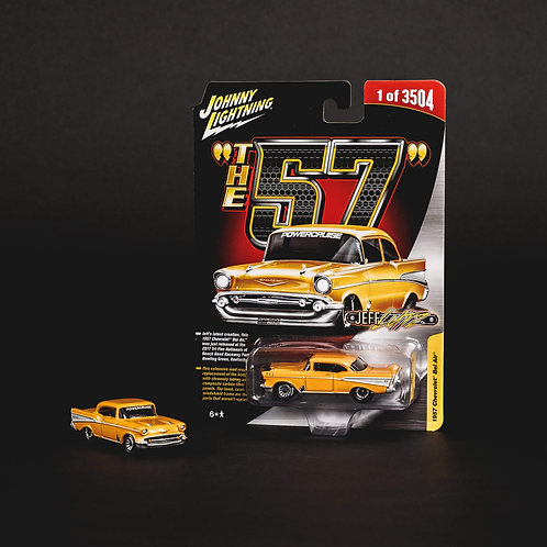 The 57 die cast car