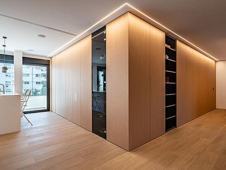 EO arquitectura transforma esta vivienda en Barcelona con mucha claridad