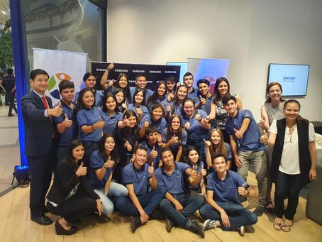 Samsung y Paraguay Educa celebraron la promoción de nuevos egresados del programa Tech Institute