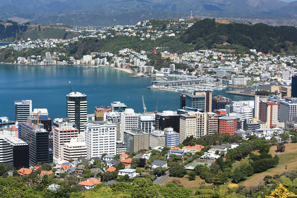 Wellington CBD & Harbour - photograph by Geographic.Media   https://geographic.media/oceania/new-zealand/new-zealand-photos/wellington-photos/wellington-cbd-harbour/