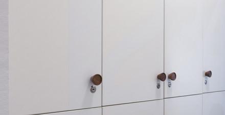 Персонални шкафчета с ключ
