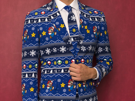 The 'Merry Mario' Christmas Suit