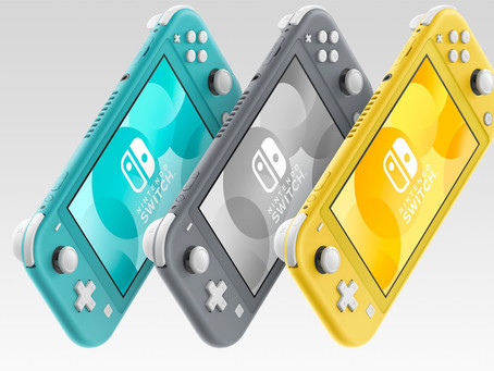 Nintendo Officially Reveals 'Switch Lite' Portable Console