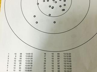 Munitionstest im Brünig Indoor