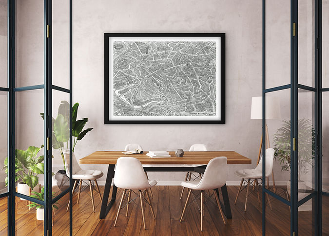 Manchester Limited Edition Print