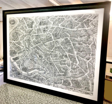 Framed Manchester limited edition. Conta