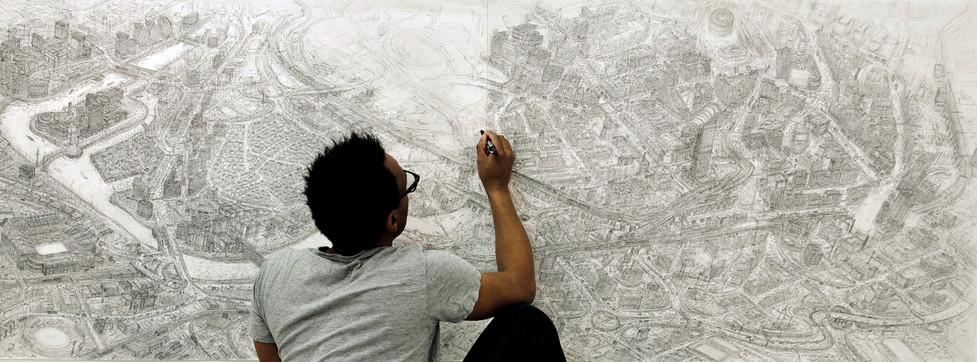 Manchester sketch.