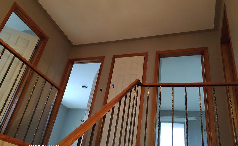 2 story Hallway Painting
