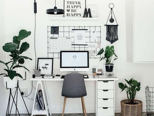 5 dicas de decoração para o seu home office