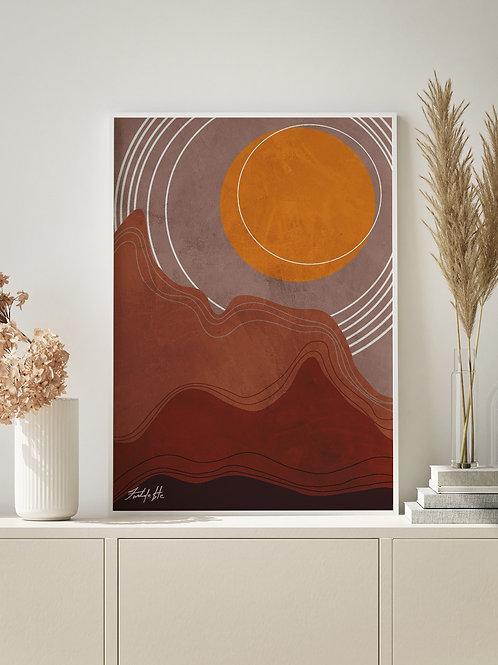 Sun Landscape | Art 02