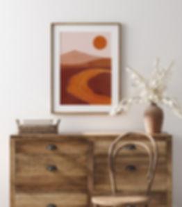 Quadro da nova coleção Terracota