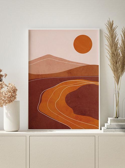Sun Landscape | Art 01