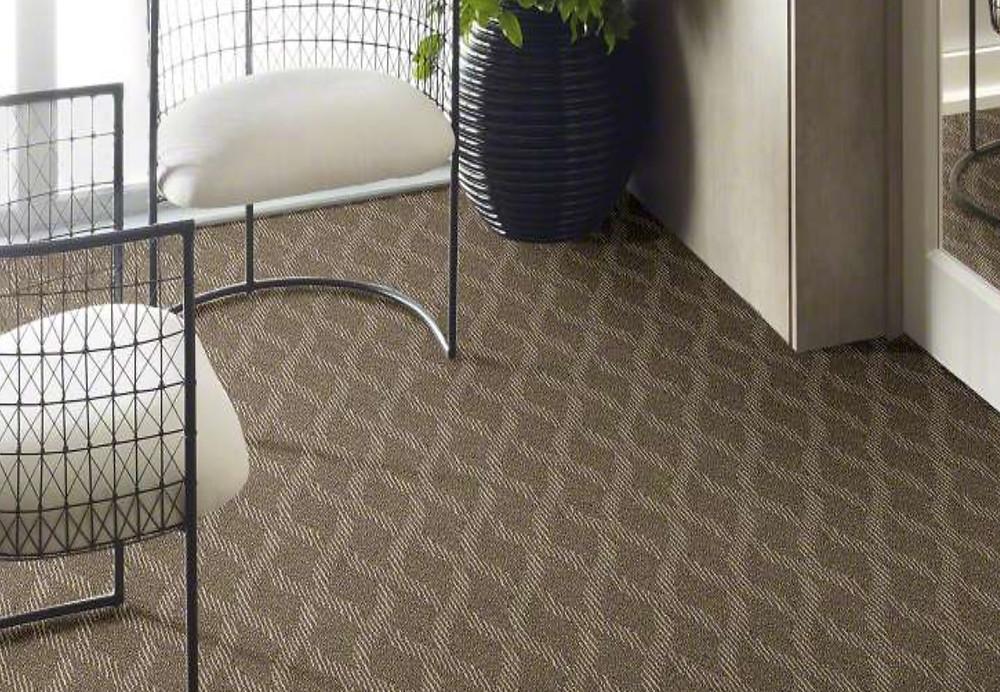 Pattern style carpet.