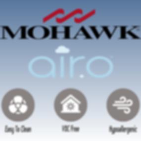 Mohawk Airo Hypoallergenic VOC free carp