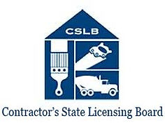 California State License Contractor Board.