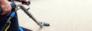Carpet steam cleaning.