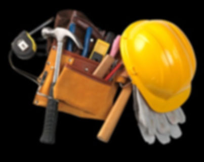 Tools of the construction trade.