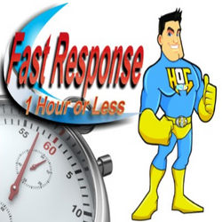Fast Response, 1 Hour or Less