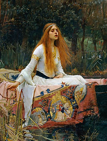 Pintura-pre-raphaelit-lady-of-shallot-2.