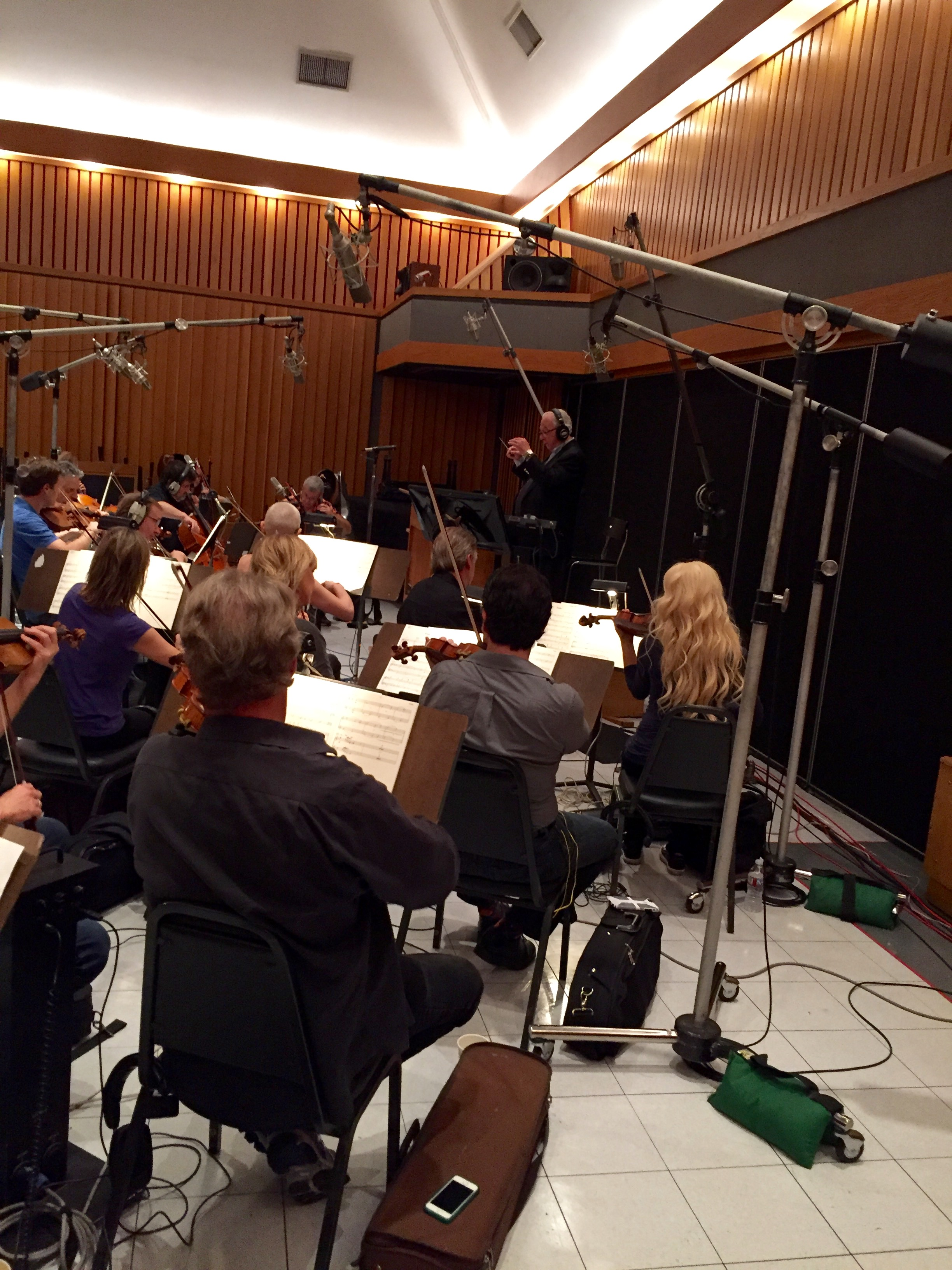Capitol Studios Orchestra Session