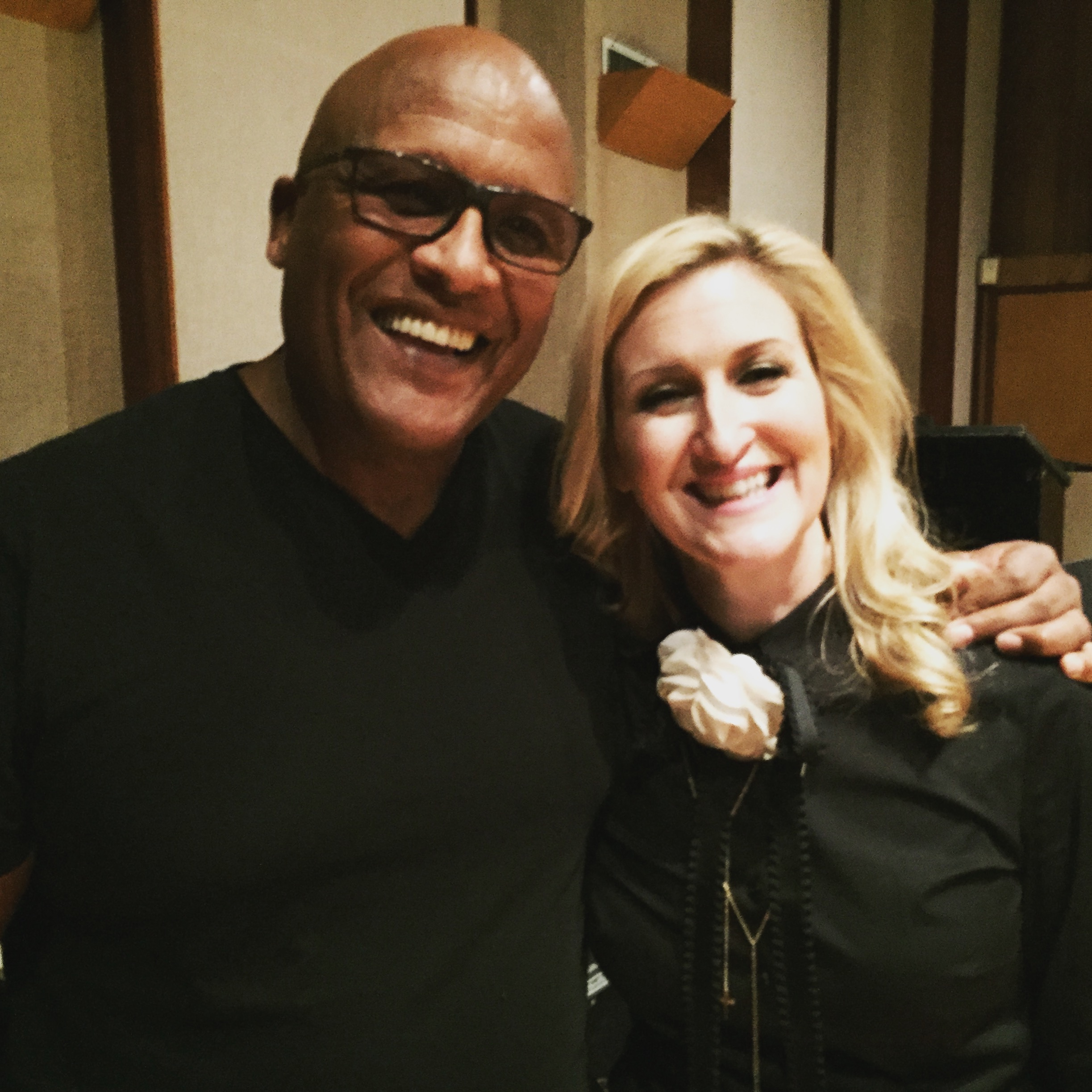 Steve Ferrone and Patrice