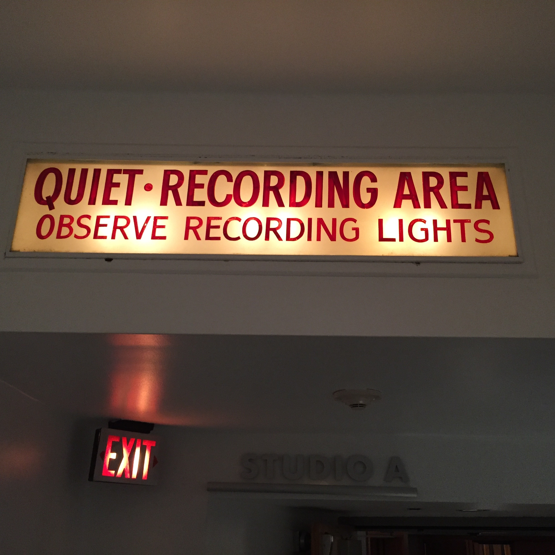 Capitol Studios Recording Session