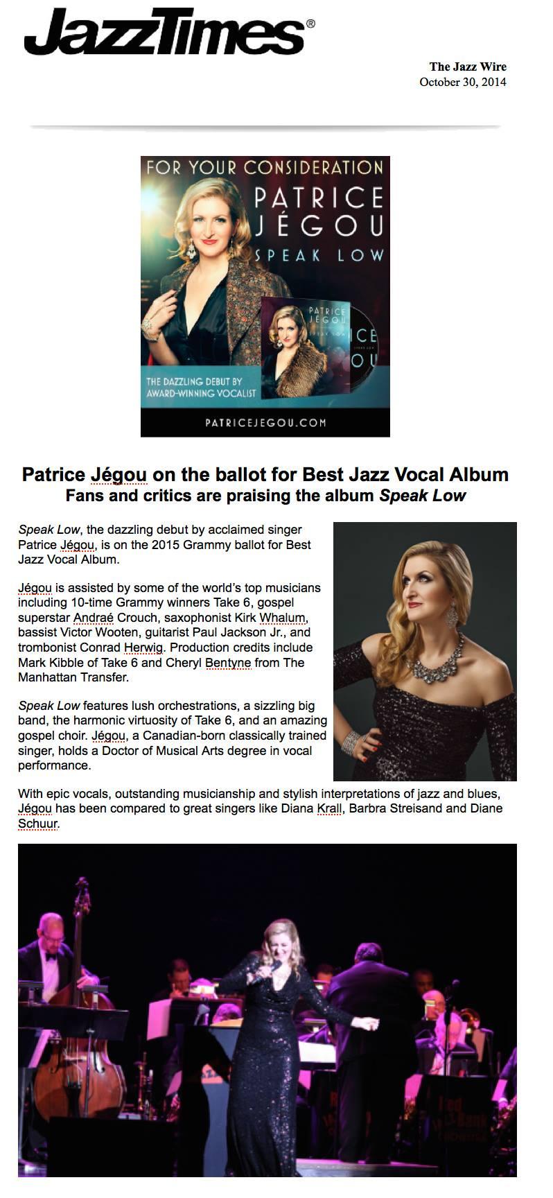On the Grammy Ballot