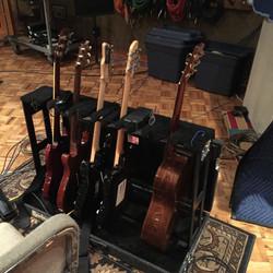 Dean Parks' guitars