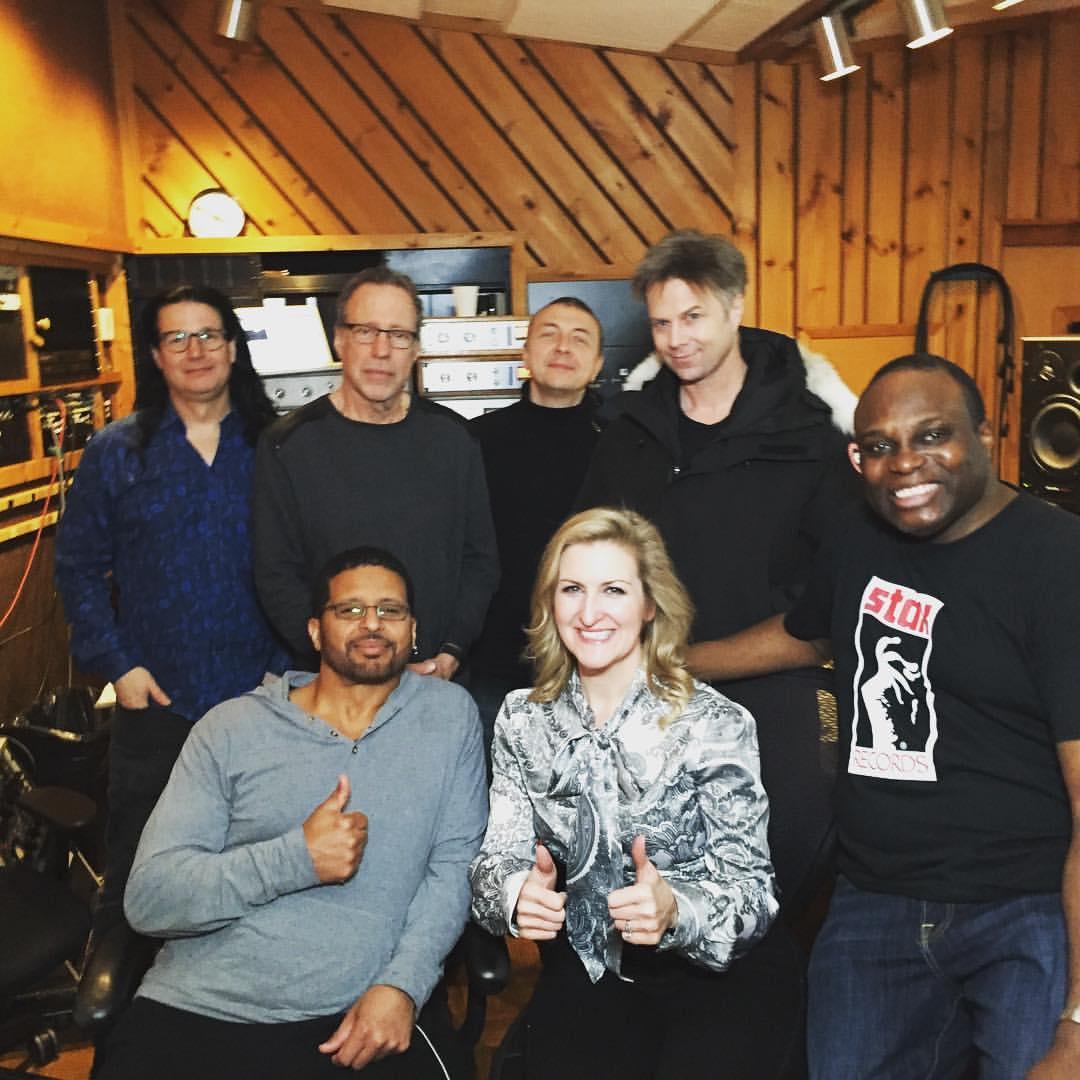 Avatar NYC Recording Session crew