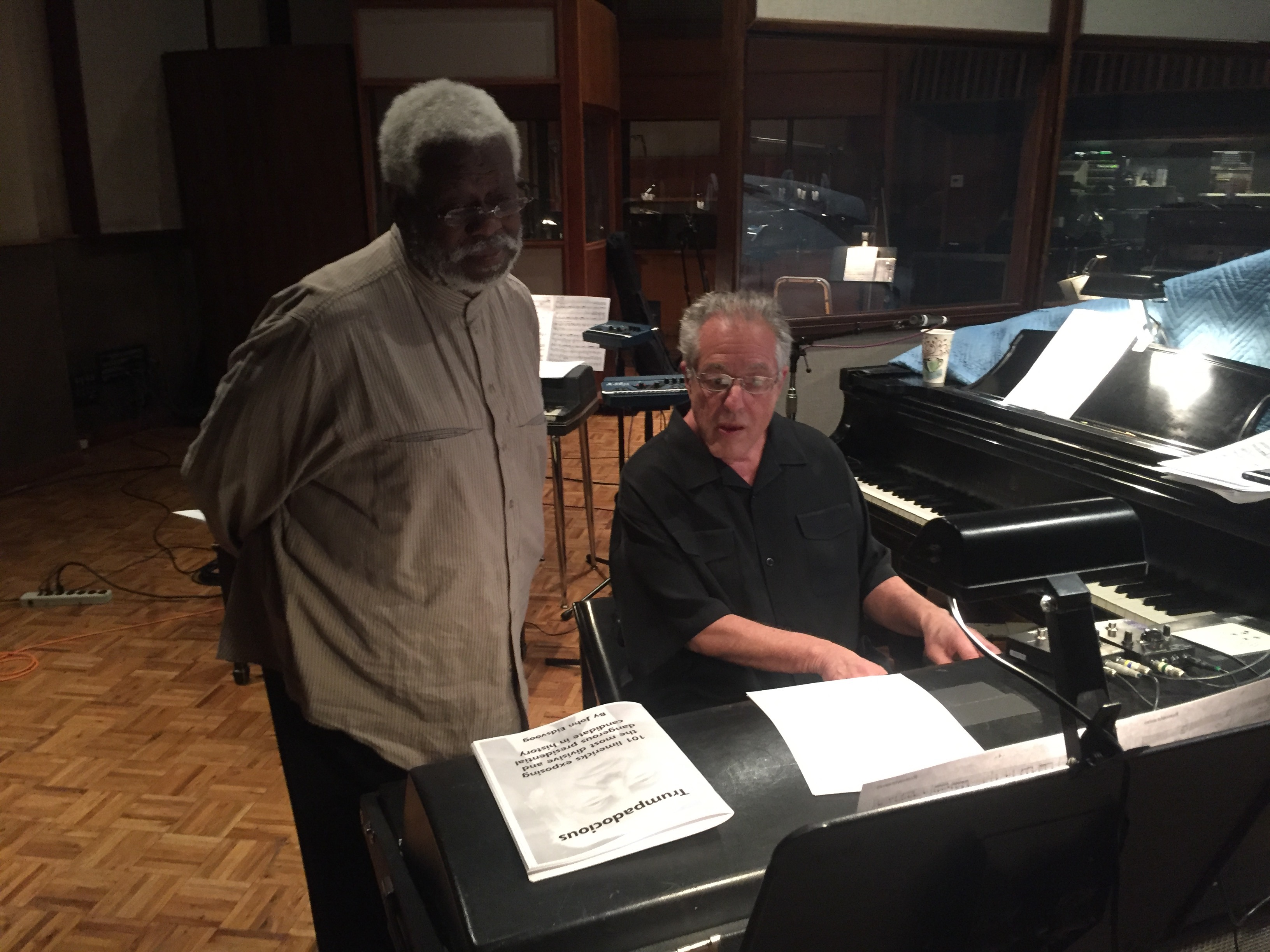 Abraham Laboriel and Mike Lang