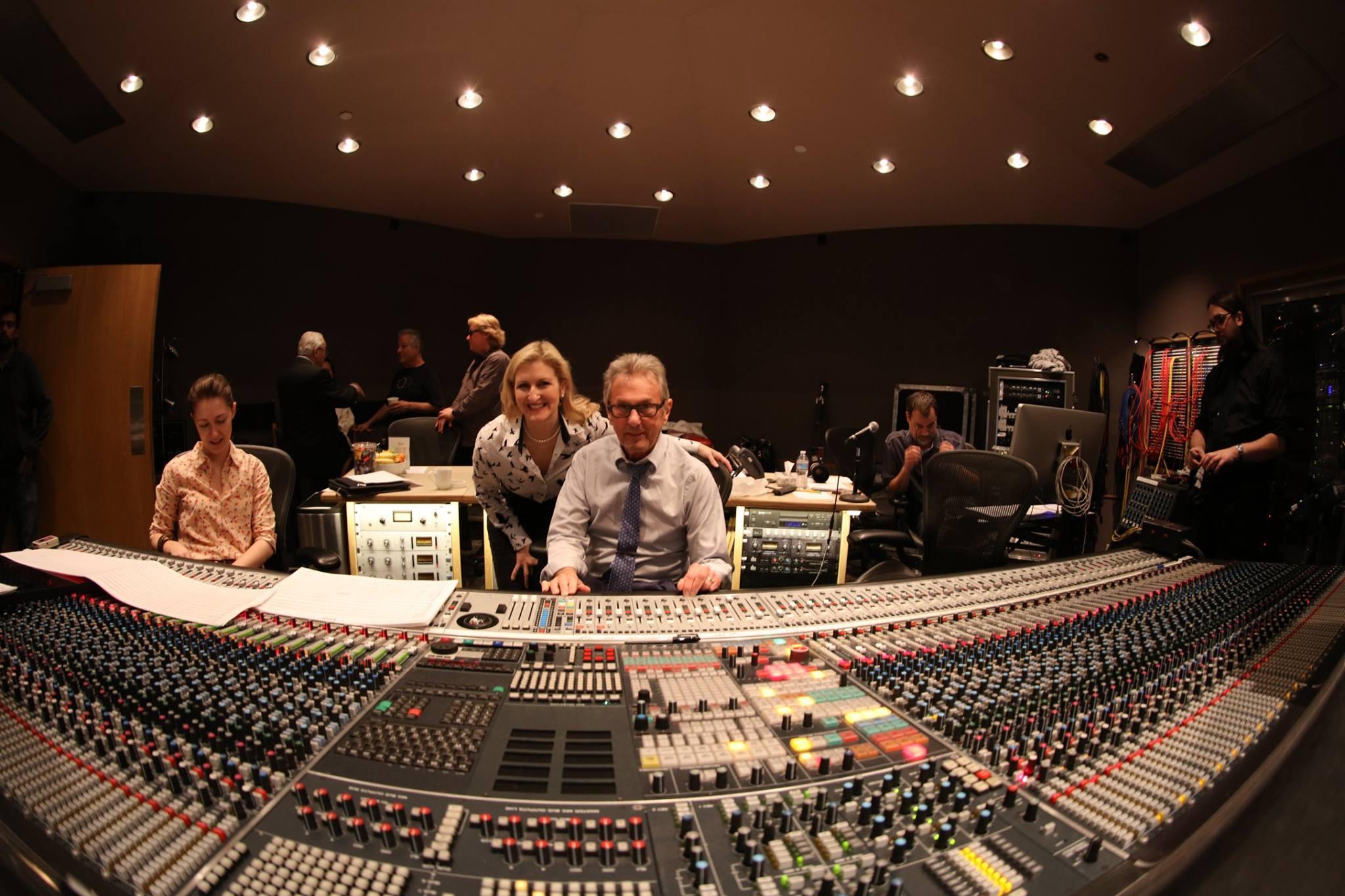 Capitol Orchestra Recording Session