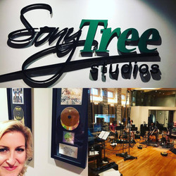 Horn session at SonyTree, Nashville