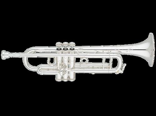 S.E. Shires TRQ10S Q Series Professional Bb Trumpet - silver
