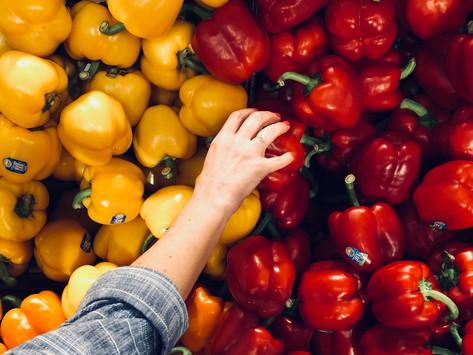 Všímavé nakupovanie potravín