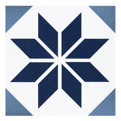 Retro 12x12 Self Adhesive Vinyl Floor Tile - 20 Tiles/20 sq. ft. - Starlight