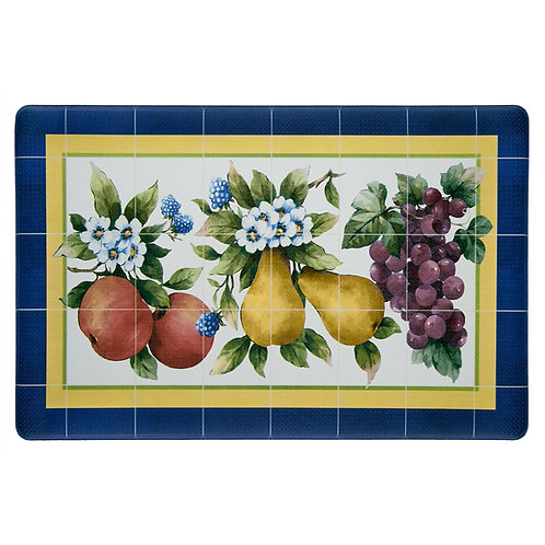 "Anti - Fatigue Mat - Fruity Tiles, 18"" x 30"""