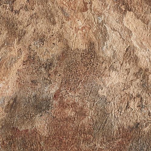 Majestic 18x18 Self Adhesive Vinyl Floor Tile - Rustic Copper Slate
