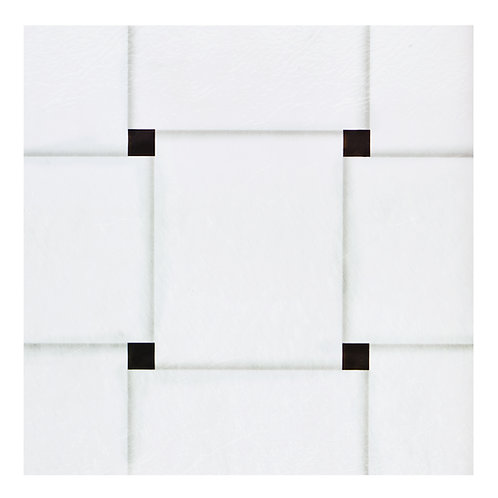 Retro 12x12 Self Adhesive Vinyl Floor Tile - 20 Tiles/20 sq. ft. - Woven Marble