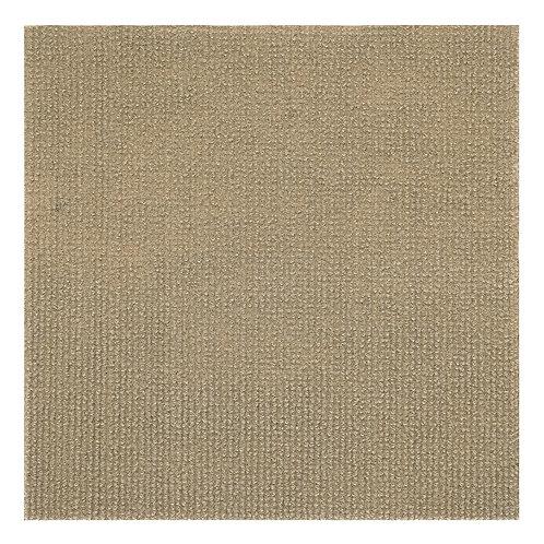 Nexus 12x12 Self Adhesive Floor Tile -  Tan, 12 Tiles/12 sq. ft.