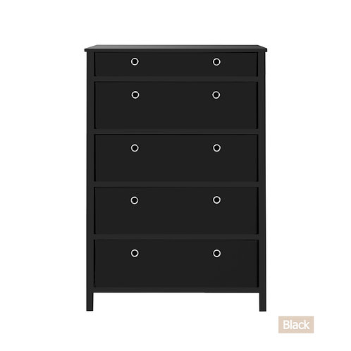 EZ Home Solutions ™ Foldable Furniture 5 Drawer Tall Dresser 45x31x19