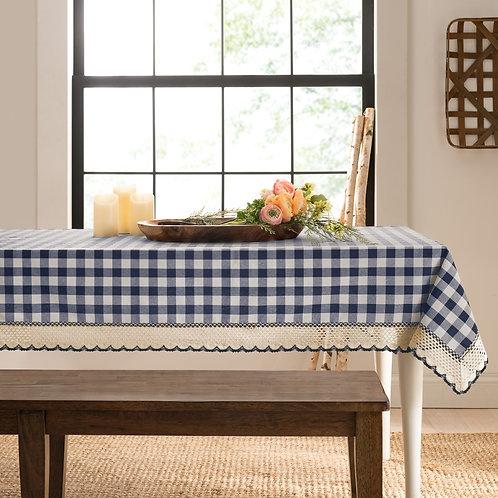 Buffalo Check Accessories Rectangle Tablecloth - Navy