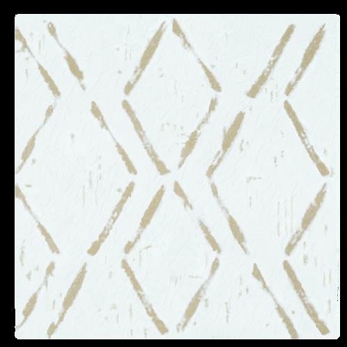 Retro 12x12 Self Adhesive Vinyl Floor Tile - 20 Tiles/20 sq. ft. - Diamond